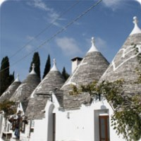 Walking among Trulli