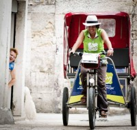 The Capital of Puglia by Rickshaw